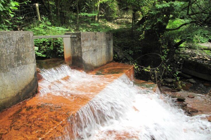 Mine water discharge
