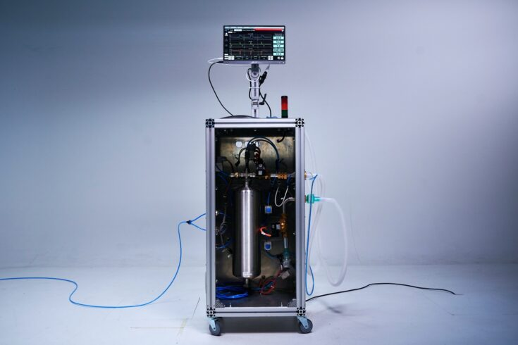 The High Energy Ventilator, which the HPLV prototype will be based on.