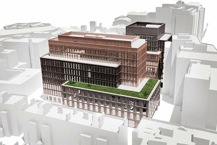 Property developer Landsec's Sumner Street project in Southwark, London.