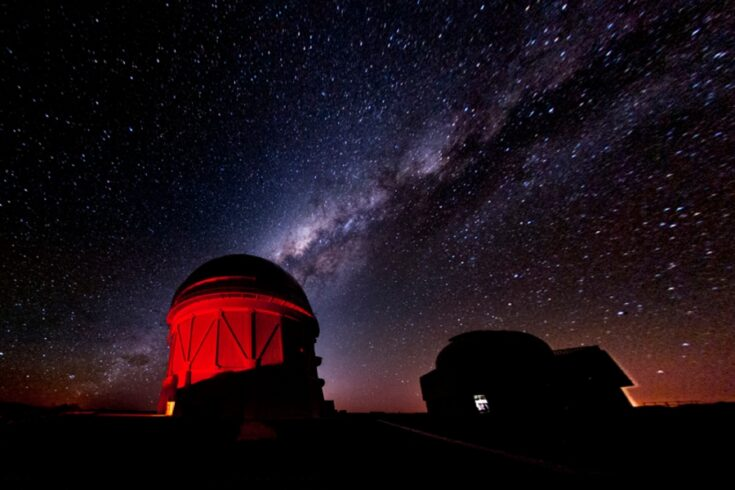 Blanco Telescope, at the CTI Observatory in Chile
