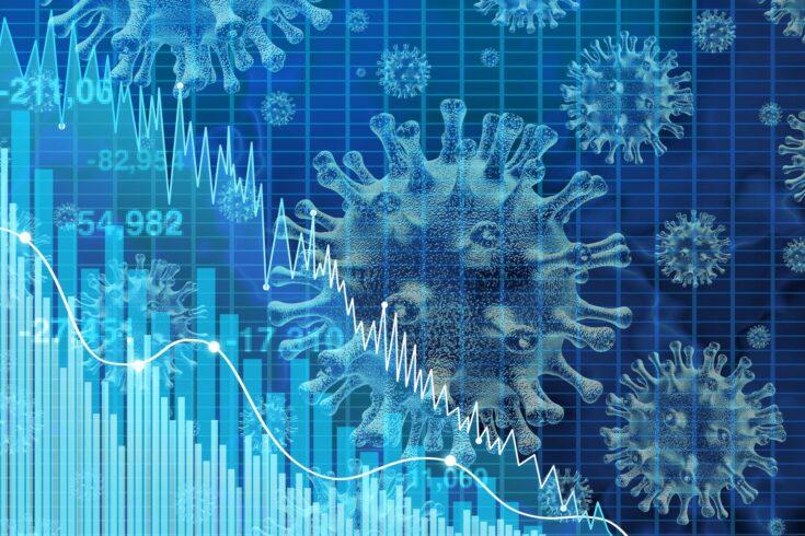 Economy and virus graph