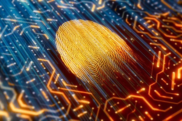 Digital fingerprint identity scanner