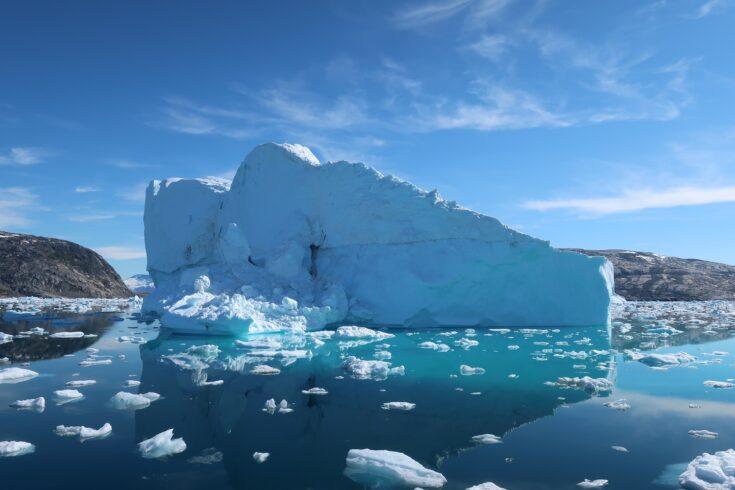 Icebergs in Sermilik Fjord SE Greenland, credit Donald Slater