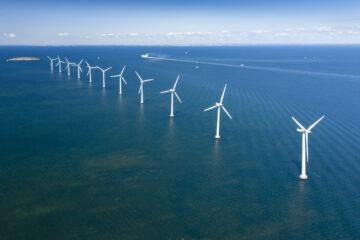 Offshore Wind Farm, Copenhagen, Denmark