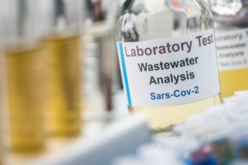 Wastewater samples, analysis of sars-cov-2 virus in patients infected by human coronavirus