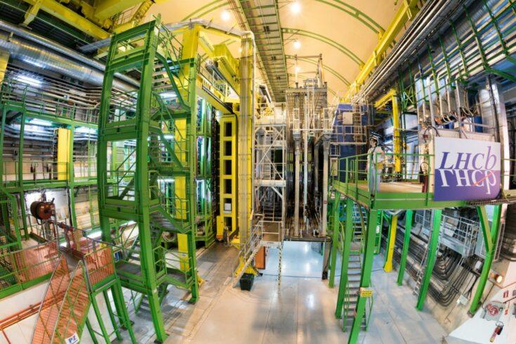 Inside the LHCb