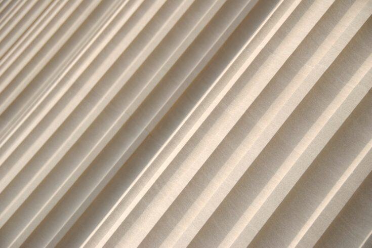 Fluted granite columns