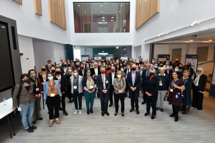 Rosalind Franklin Institute, Oxfordshire. Opening celebration event