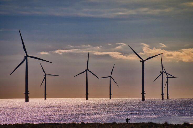 Teeside offshore wind farm, England